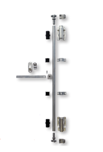 P50015 by BUFFERS USA - Swing Door Lock Rod Kit (Less Rod) (Representative Image)