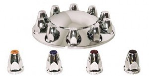 15100 by AMERICAN CHROME - CAP-FRONT HUB
