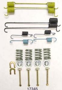 17345 by BETTER BRAKE PARTS - Drum Brake Hardware Kit