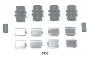 5838 by BETTER BRAKE PARTS - Disc Brake Hardware Kit