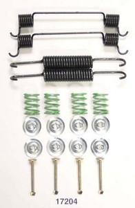 17204 by BETTER BRAKE PARTS - Drum Brake Hardware Kit