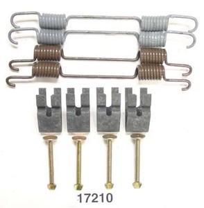 17210 by BETTER BRAKE PARTS - Drum Brake Hardware Kit