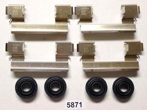 5871 by BETTER BRAKE PARTS - Disc Brake Hardware Kit