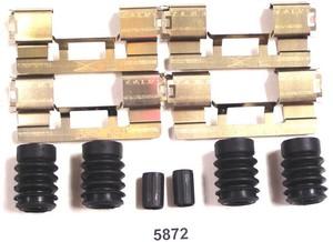 5872 by BETTER BRAKE PARTS - Disc Brake Hardware Kit