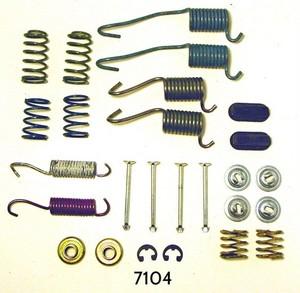 7104 by BETTER BRAKE PARTS - Drum Brake Hardware Kit