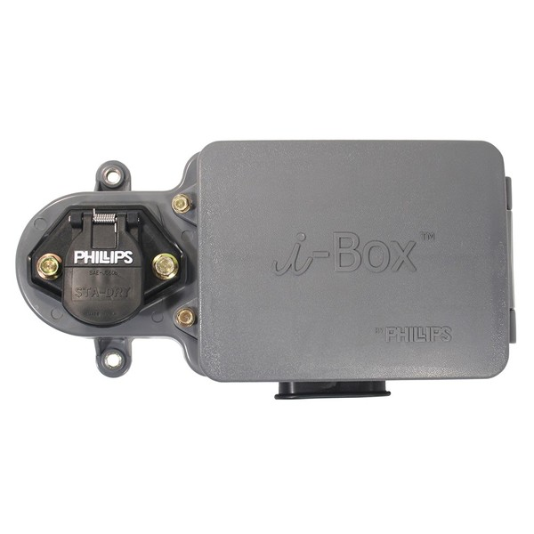 16-7802 by PHILLIPS INDUSTRIES - Nosebox - i-BOX with 20 Amp Circuit ...