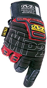 MP2-02-009 by MECHANIX WEAR - M-Pact® 2 Heavy Duty Protection Gloves, Red, Medium
