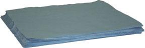 """95012B by MDI WIPES - """"Supreme"""" Blue Creped Spunlace Wiper"""