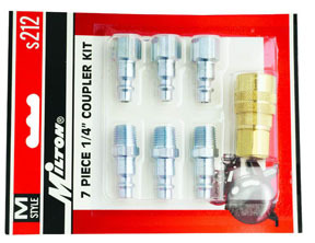 S-212 by MILTON INDUSTRIES - 7PC M STYLE KIT