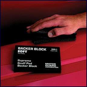 BBS1 by MOTOR GUARD - BACKER SOFT BLOCK