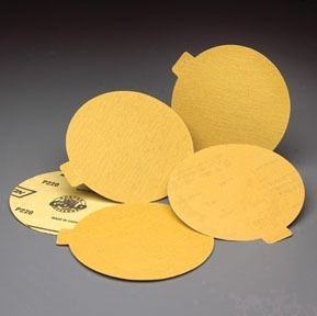 "83832 by NORTON - Gold Reserve 6"" Disc Roll P400B Grit Package of 100"