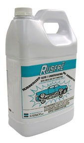 1020F6 by RUSFRE - Automotive Spray-On Rubberized Undercoating Material, 1-Gallon