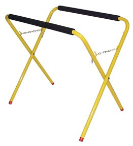 35755 by STECK - Portable Bench with Heavy-Duty Frame