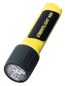 68244 by STREAMLIGHT - 4AA Luxeon® LED ProPolymer® Alkaline Battery-Powered Flashlight - Yellow