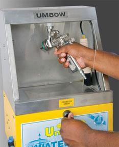 UM80W by UNI-RAM - UM80W Spray Gun Cleaner