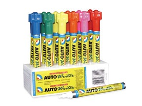 37000 by U. S. CHEMICAL & PLASTICS - Auto Writer Markers - Assorted Pen Size