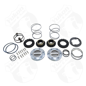 YHC70008 by YUKON HARDCORE - Yukon Hardcore Locking Hub set for '94-'99 Dodge Dana 60 with Spin Free kit