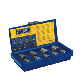 54019 by IRWIN HANSON - 9 Pc. Metric Bolt Extractor Set