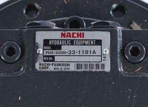 PHX-300N-33-1191A by NACHI HYDRAULICS - TRAVEL MOTOR