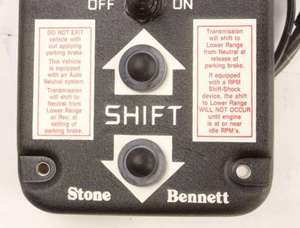 LP4-AN-01 by STONE BENNETT CORP. - CONTROL