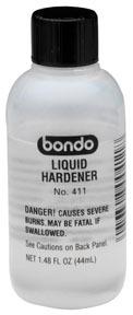411 by DYNATRON BONDO - Dynatron® Liquid Hardener, 1.48 oz.