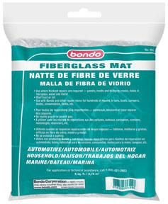 488 by DYNATRON BONDO - Bondo(R), Fiberglass Mat  8 Sq Ft