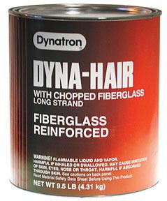 474 by DYNATRON BONDO - Dynatron® Dyna-Hair Long Strand, Gallon