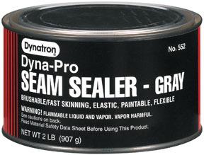 552 by DYNATRON BONDO - Dynatron® Gray Seam Sealer, Quart
