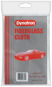 699 by DYNATRON BONDO - Dynatron® Fiberglass Cloth, 8 Sq. Ft.