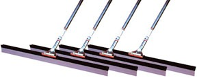 """49530C4 by BRUSKE PRODUCTS - Pack of 4, 30"""" Squeegee with Handle"""