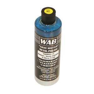 P21 by WAB - GRAY MATTER POLISH, MD.TO HVY.OXID 16 OZ