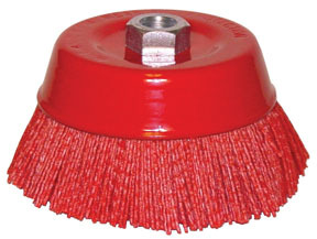 TNBC by DOMINION SURE SEAL - Nylon Cup Brush, Nylon Cup Brush 6""