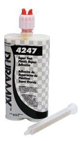 4247 by DURAMIX - Duramix™ Super Fast Plastic Repair Adhesive