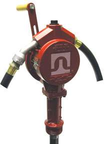FR112 by FILL-RITE - Rotary Hand Pump - 10 GPM, 8' Hose