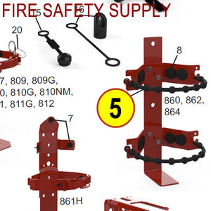860 by AMEREX CORP - HD VEHICLE RUBBER STRAP