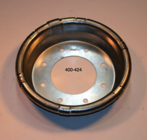 "400-424 by CENTRAMATIC - 17"" F350 FORD Front (8 BOLT) '05 & newer"