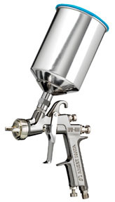 5553 by IWATA - LPH400 L-Volt Gravity Fed Spray Gun, 1.4mm with 1000ml Aluminum Cup