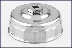 2991 by KD TOOLS - 3/8in. Square Drive End Cap Oil Filter Wrench 3-3/4in.