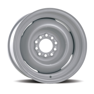 """110059 by UNITED PACIFIC - Hot Rod 14 Series Gennie Wheel with Primer Finish - 15 x 7"""""""