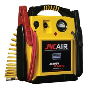 AIR by JUMP-N-CARRY - 1,700 Peak Amp 12V Jump Starter with Integrated Air Delivery System