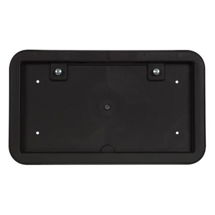 Optronics LP10S Black Heavy Duty Plastic License Plate Bracket