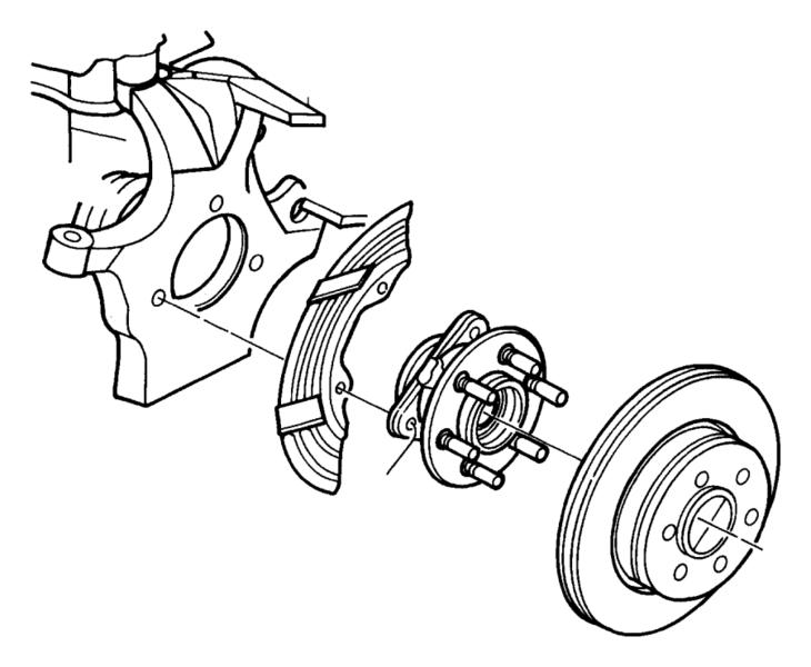 2007 Chrysler Pt Cruiser Rear Brake Diagram