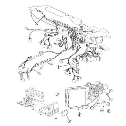 04608798af by chrysler - wiring. instrument panel. diagram 1 78 f150 wiring diagram instrument panel gauges mopar wiring diagrams instrument panel #1