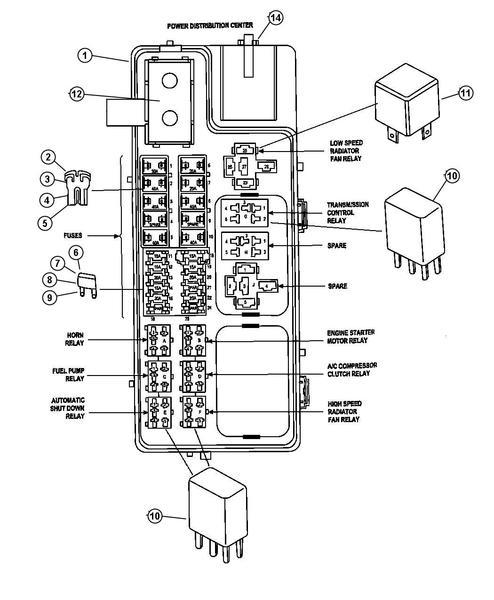 05102037AA by CHRYSLER - FUSE  150 AMP  Diagram 12