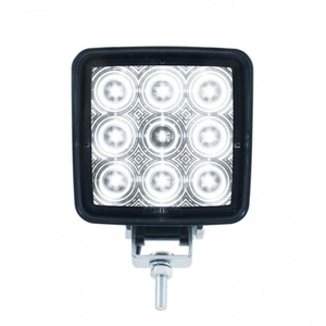 37553B by UNITED PACIFIC - 9 High Power 0.5 Watt SMD LED Square Work Light (Bulk)