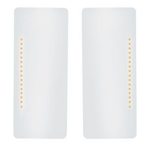 39446 by UNITED PACIFIC - 16 LED West Coast Mirror Light (2 Pack)