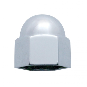 """10022 by UNITED PACIFIC - 5/8"""" x 3/4"""" Chrome Die Cast Acorn Nut Cover"""