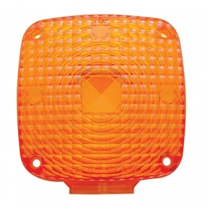 32079 by UNITED PACIFIC - Square Double Face Light Lens - Amber