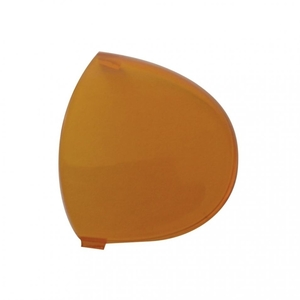 41382 by UNITED PACIFIC - 2006+ Kenworth Round Dome Light Lens - Amber