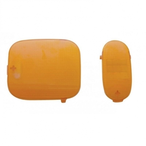41983 by UNITED PACIFIC - 2006+ Freightliner Dome Light Lens - Amber